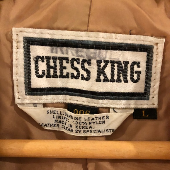 Chess King Jackets Amp Coats Chess King Vintage 7s Leather